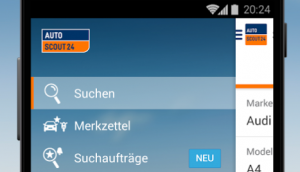 AutoScout24 Android Applikation 4.0 released!